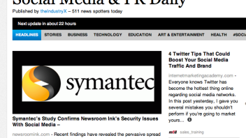Social Media & PR Daily Features Newsroom Ink Story