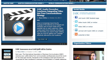 IABC Austin Launches New Worldwide Communication Portal – BeHeardAustin.com