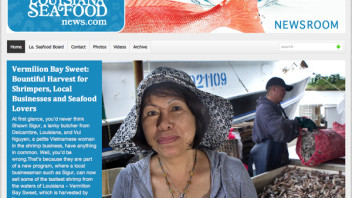 Riding the Storm Out … and Beyond – Louisiana Seafood Board Relaunches Its Industry Site with Newsroom Ink