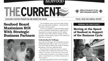 Newsroom Ink Expands Annual Report Boundaries – Makes Splash for Louisiana Seafood