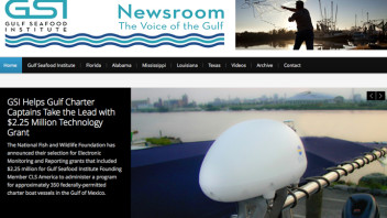 Newsroom Ink's Gulf Seafood News Instrumental in Securing Grant for GSI