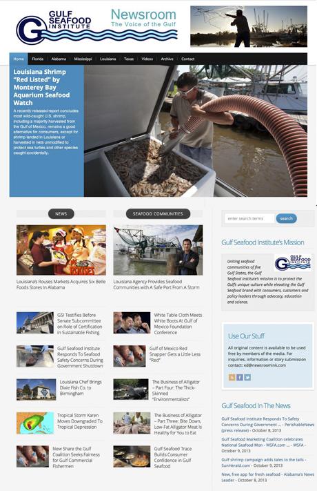 Gulf Seafood News